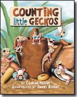 Counting Little Geckos  (Board Book)